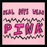 real boys wear pink close-up