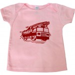 Handsome in Pink-pink firetruck