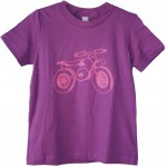 Handsome in Pink-purple dirtbike